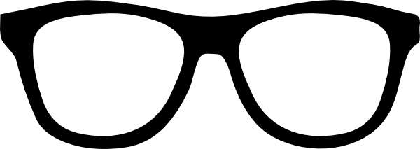 Png nerd glasses transparent. Goggles clipart vector png black and white download