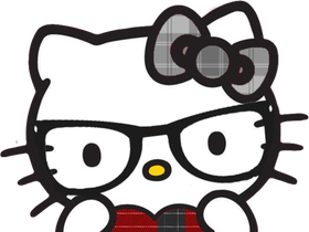 Nerd hello kitty png. Pictures images photos photobucket
