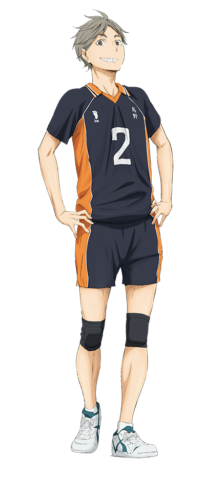 Transparent haikyuu sugawara koushi. Anime