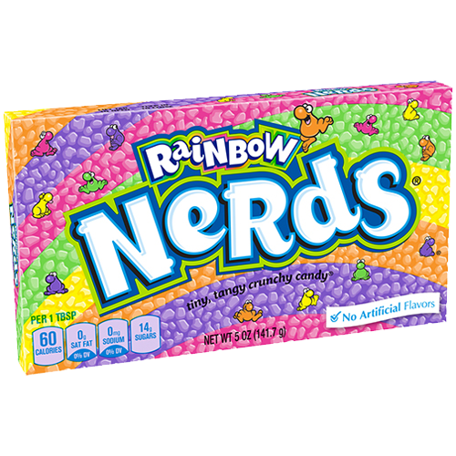 Nerds candy png. Rainbow oz theater box