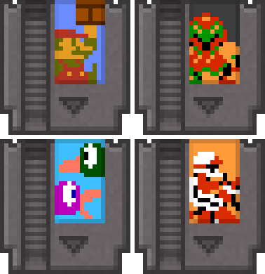 Nes cartridge png. Minecraft remake by aziascreations