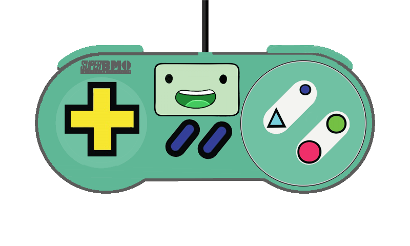 Snes controller png. Bmo adventure time by