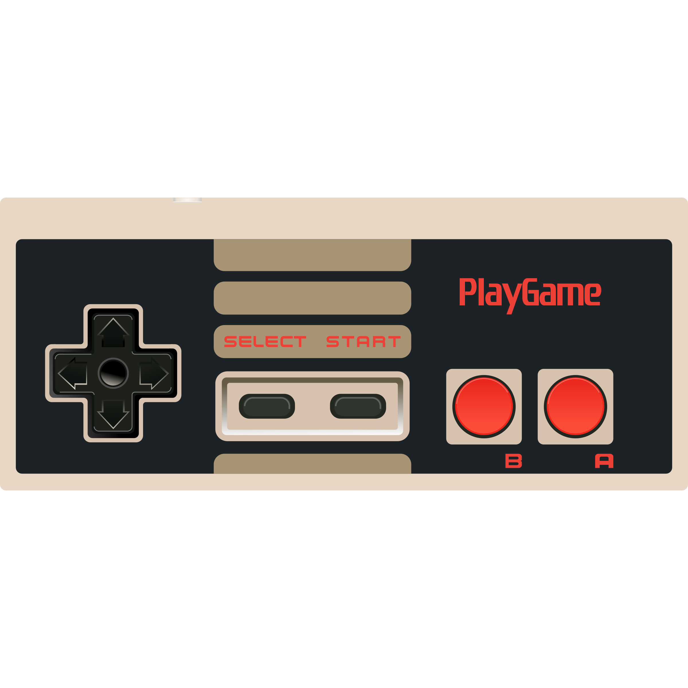 Nes controller png. Video game icons free