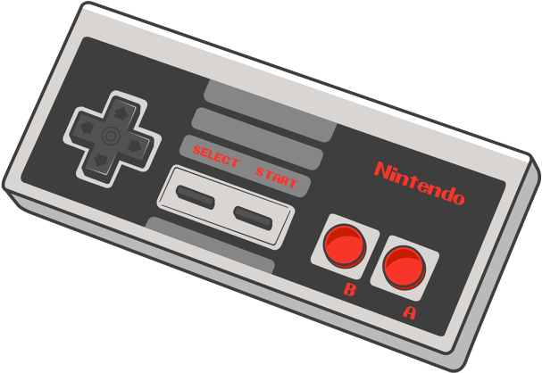 Nintendo 64 drawing png. Download nes controller old