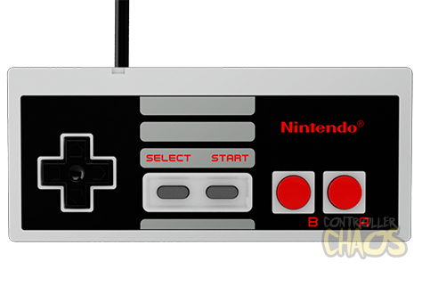 Nes controller png. Build your own custom