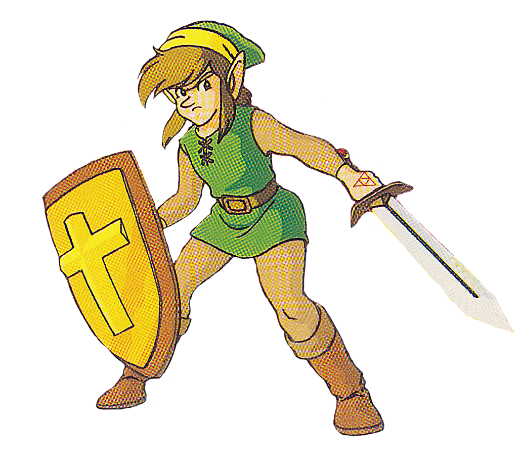 Nes link png. Same links from different