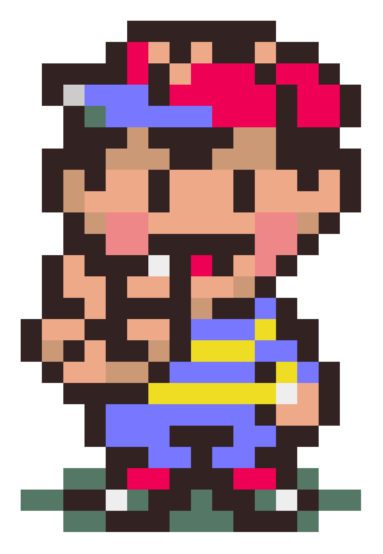 Ness sprite png. Earthbound mother super nintendo