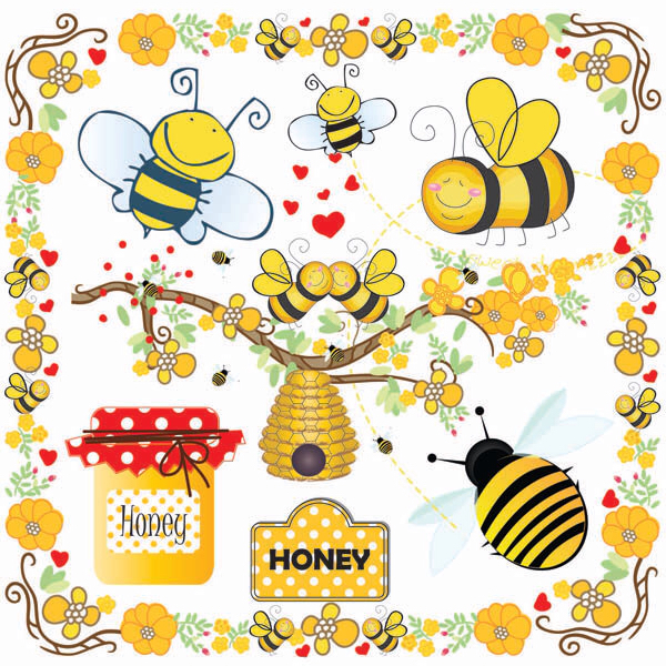 Nest clipart honey. Bees clip art bumble