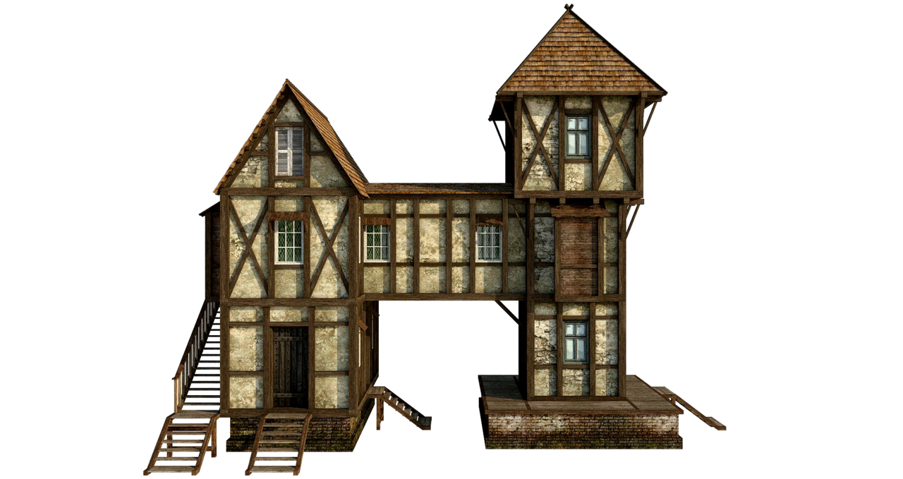 Net clipart medieval. House png by fumar