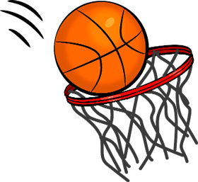 Net clipart transparent. Basketball and png images