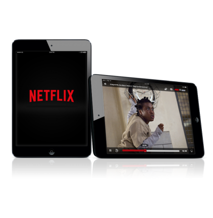 Netflix app png. Brings picture in for