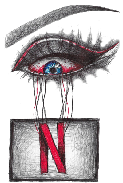 Are you addicted to. Netflix drawing artwork picture freeuse