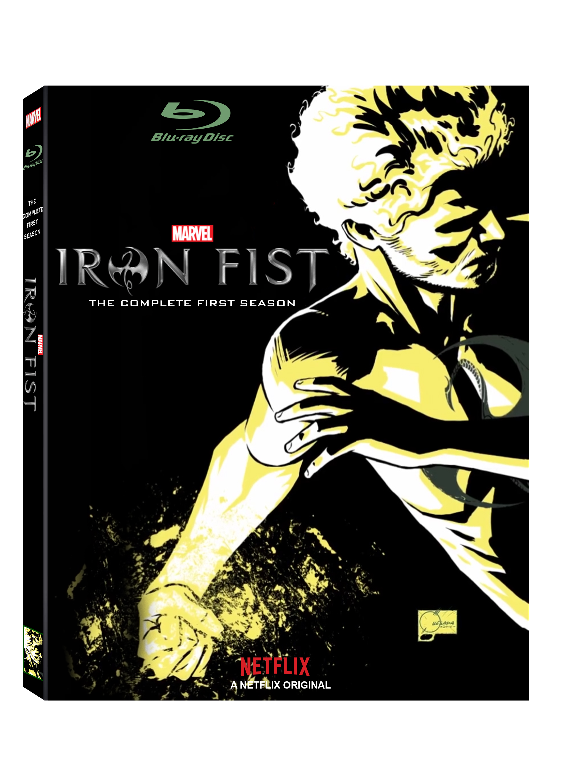 Netflix drawing outfit. Made an iron fist