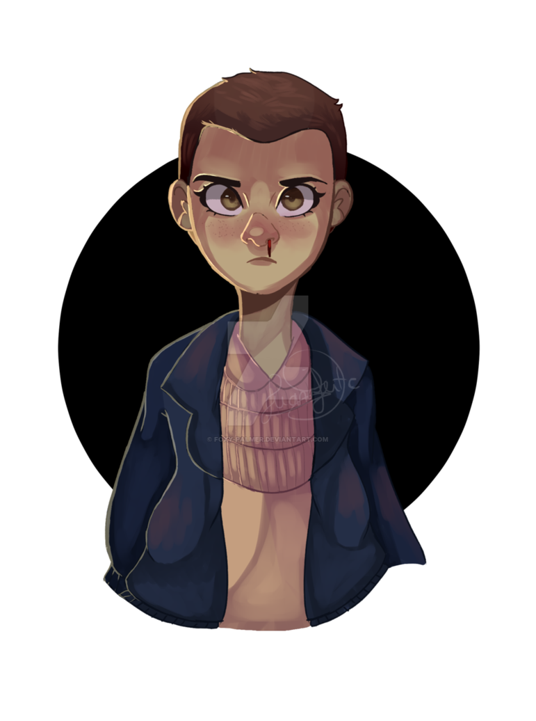 Netflix drawing stranger thing. Eleven by raposaboba on