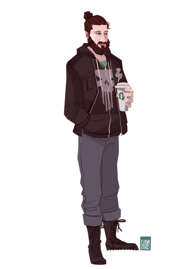 Netflix drawing the punisher. Hipster by fionacreates on