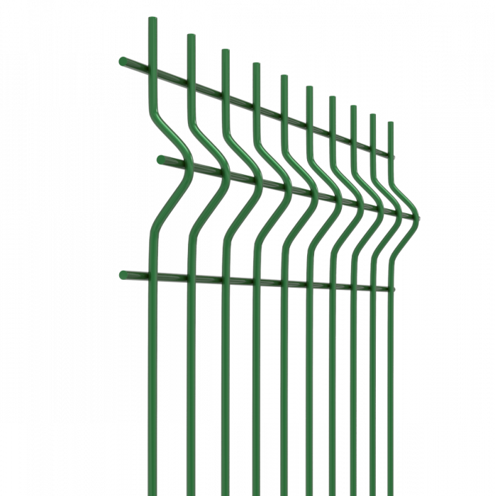 Netting clip plastic. V mesh security fencing