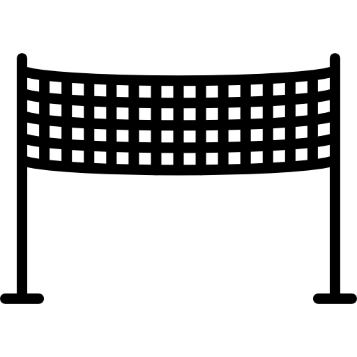 Netting vector metal mesh. Volleyball net icons free