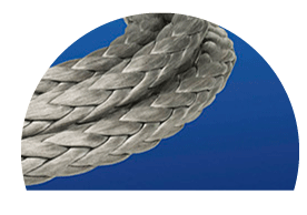 Netting vector rope net. Commercial fishing gear for