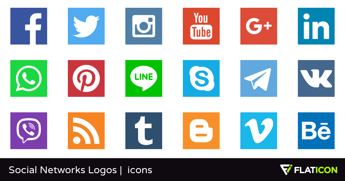 Network clipart social networking site. Networks logos free icons