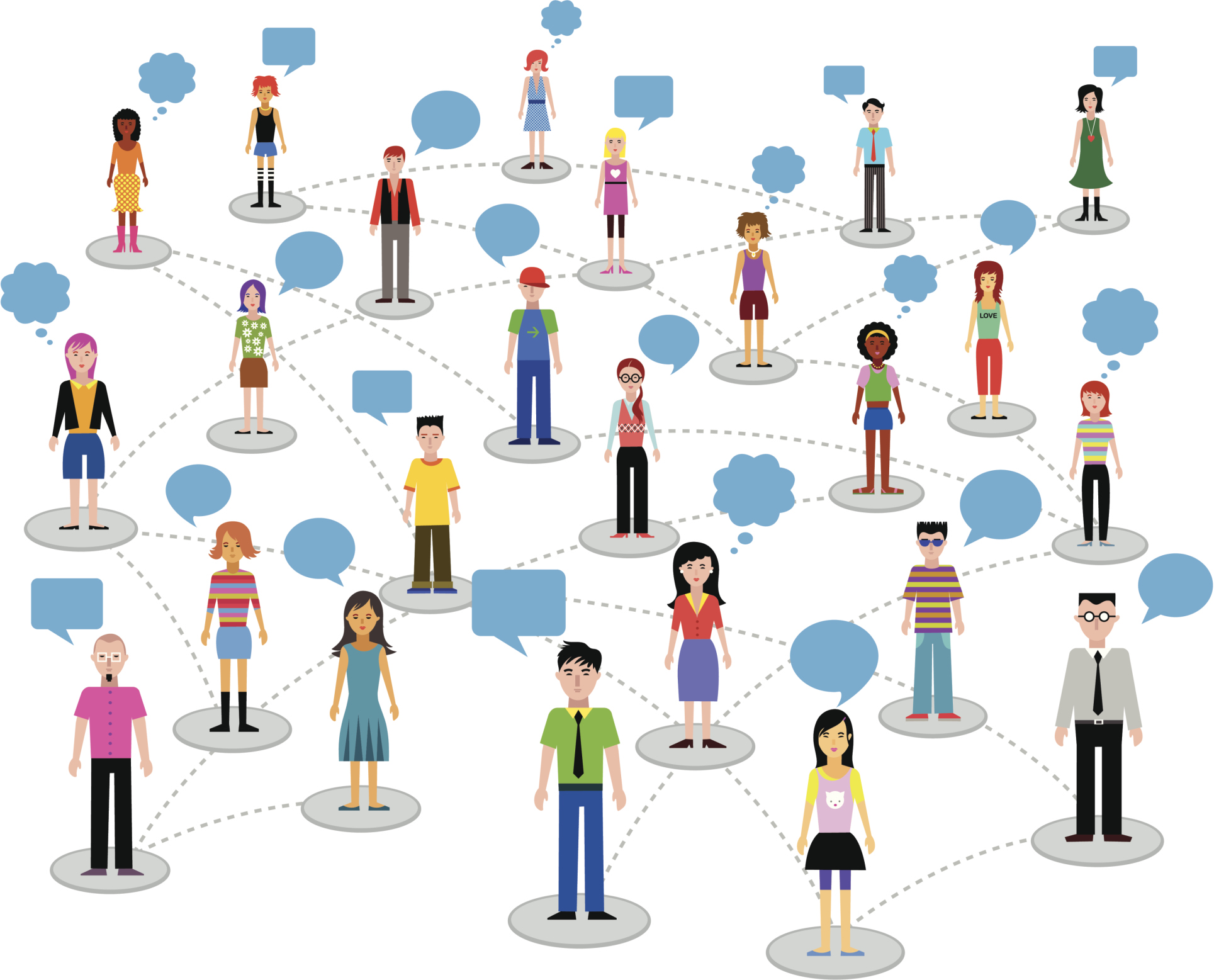Network clipart social networking site. Serving others the best