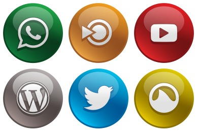 Network clipart social networking site. Icons glossy