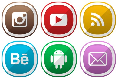 Network clipart social networking site. Icons