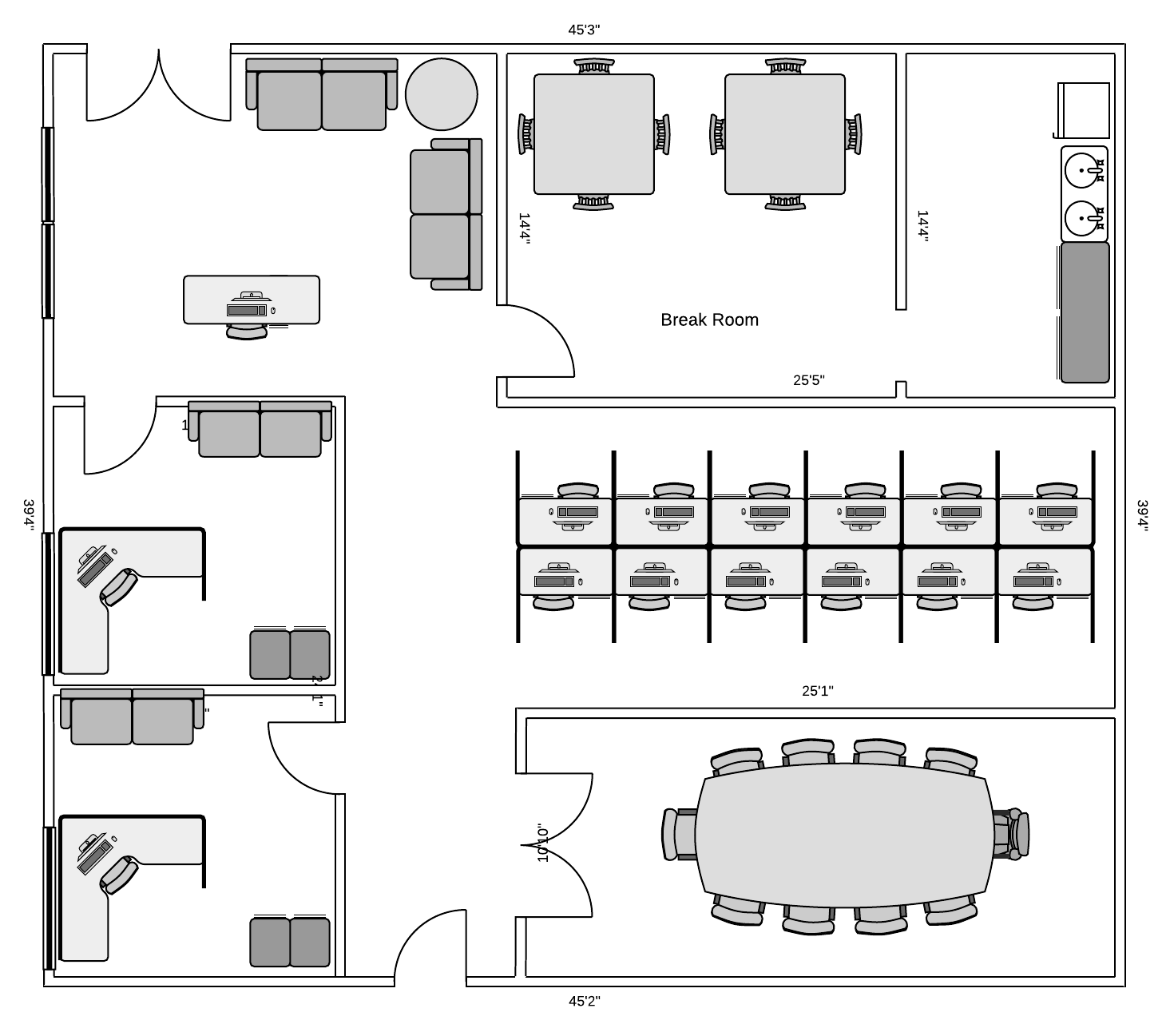 Networking drawing floor plan layout. Diagram your network for