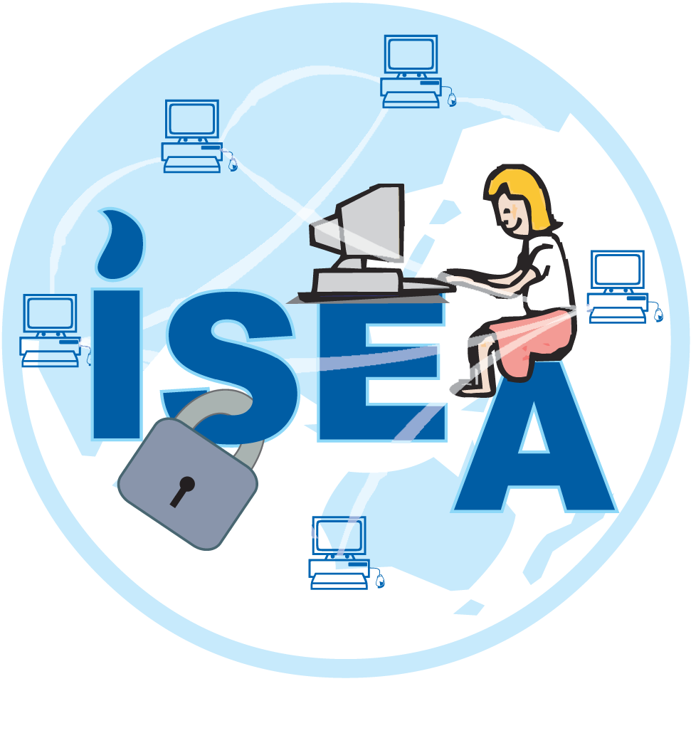 Networking drawing internet security. File sharing downloading and
