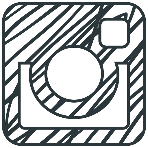 Networking drawing social. Instagram icon myiconfinder logo
