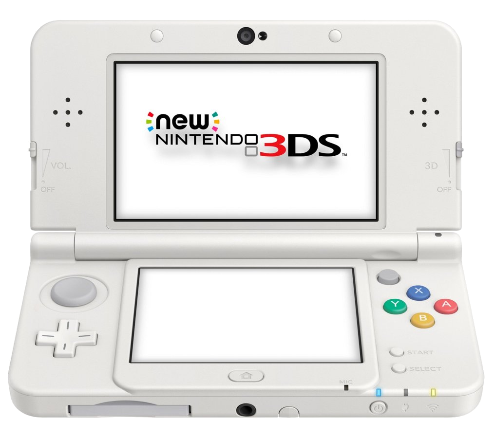 New 3ds Transparent & PNG Clipart Free Download - YA-webdesign