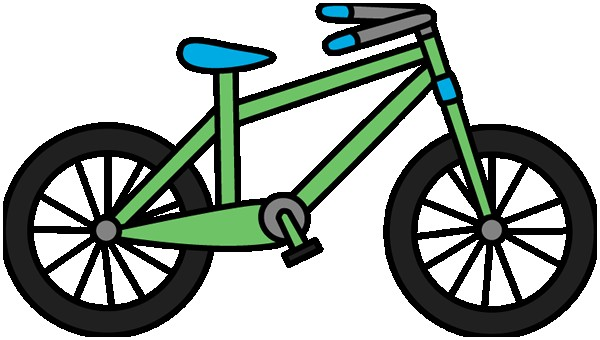 New clipart bike. Awesome clip art bicycle