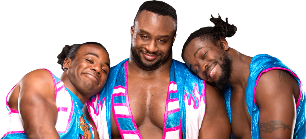 Wwe new day png. The image