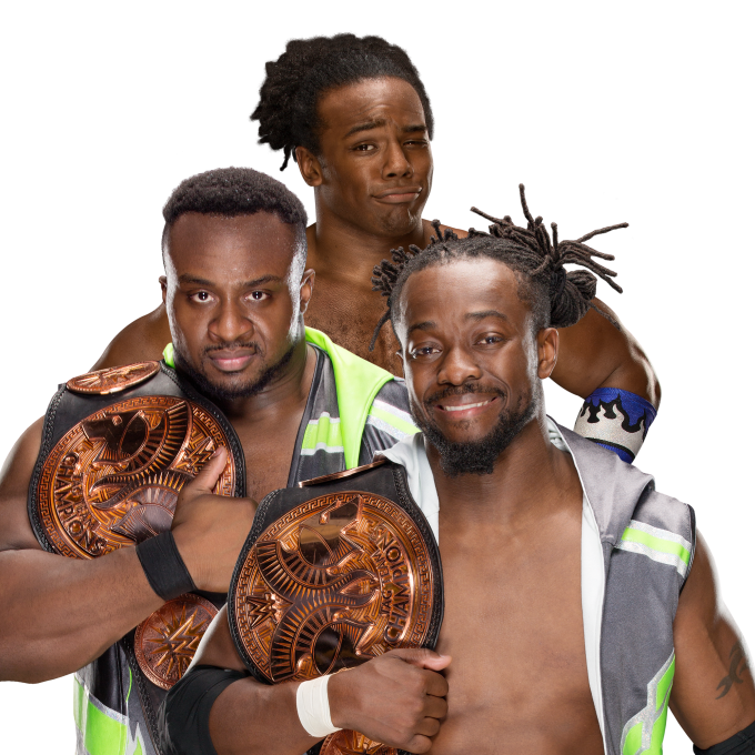 Wwe new day png. Image newday protitle da
