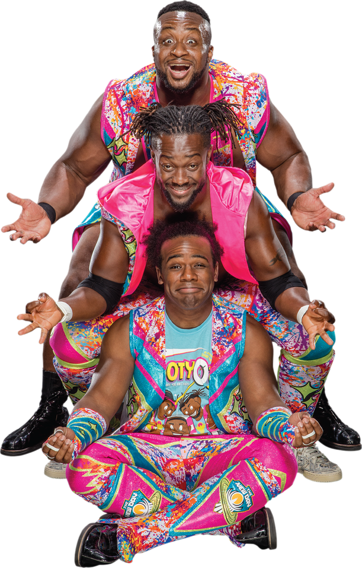 Wwe new day png. The pro wrestling fandom
