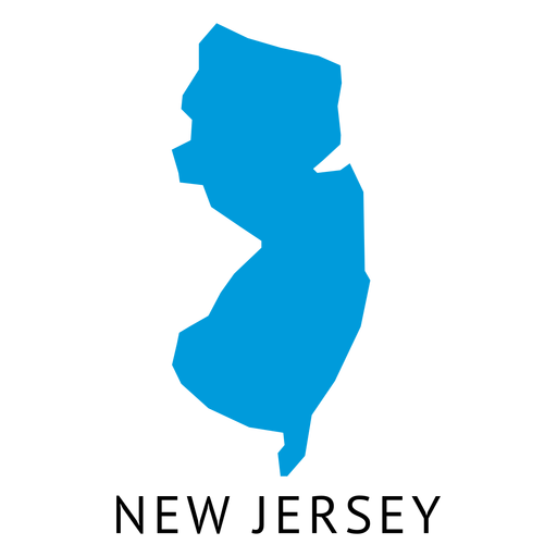 New jersey map png. State plain transparent svg