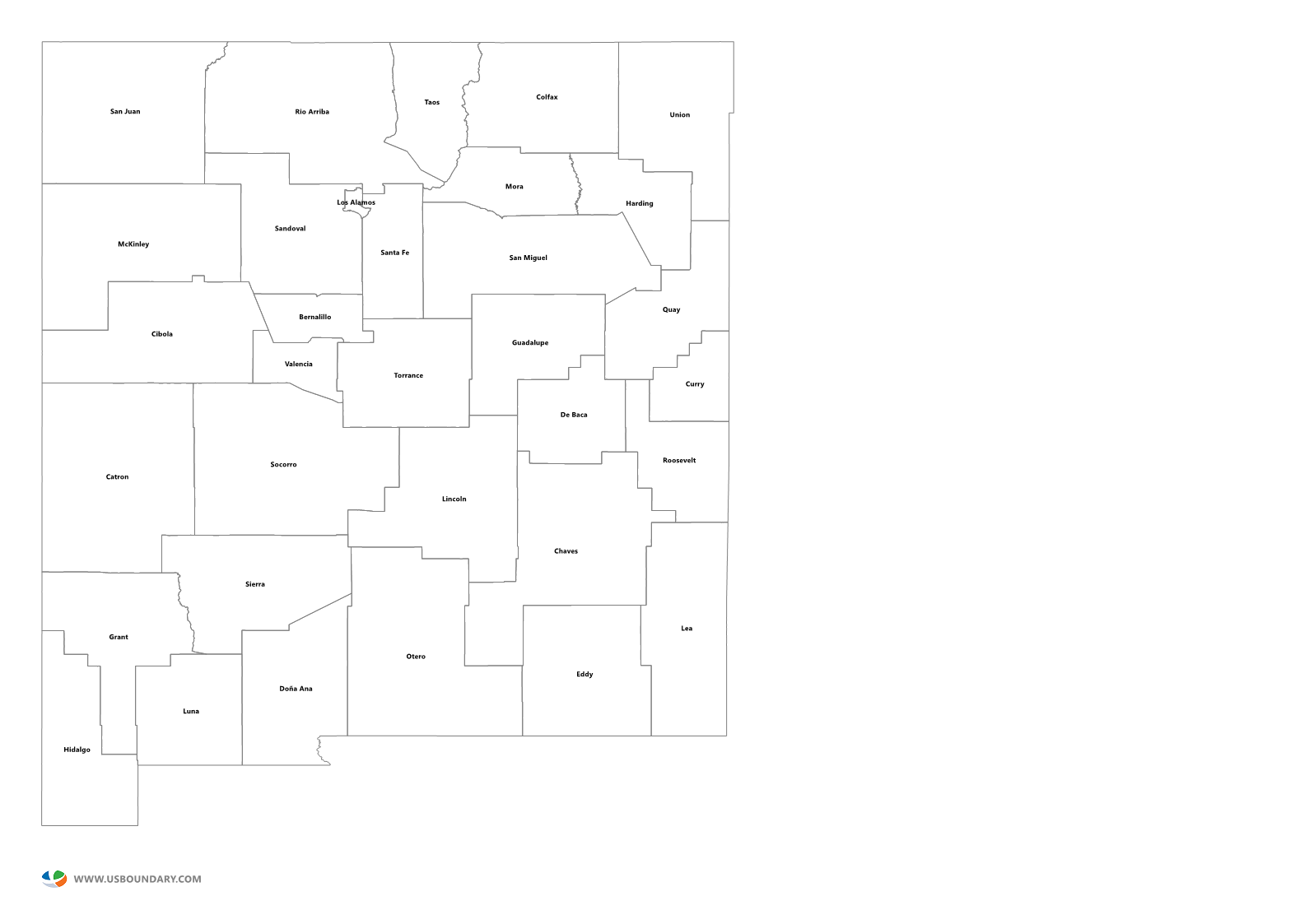 new mexico map png