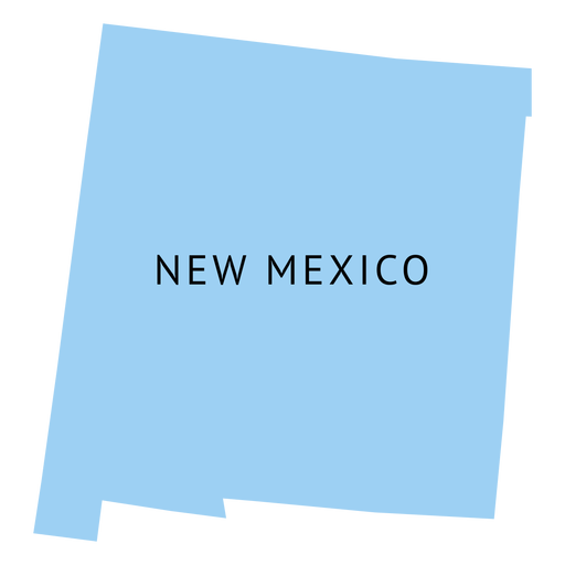 New mexico map png. State plain transparent svg