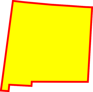 New mexico outline png. State clipart