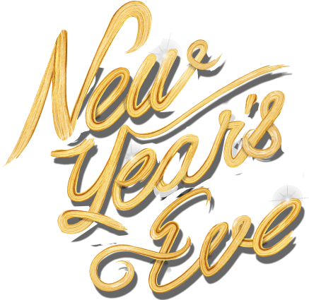 New year 2017 png. S eve party nye