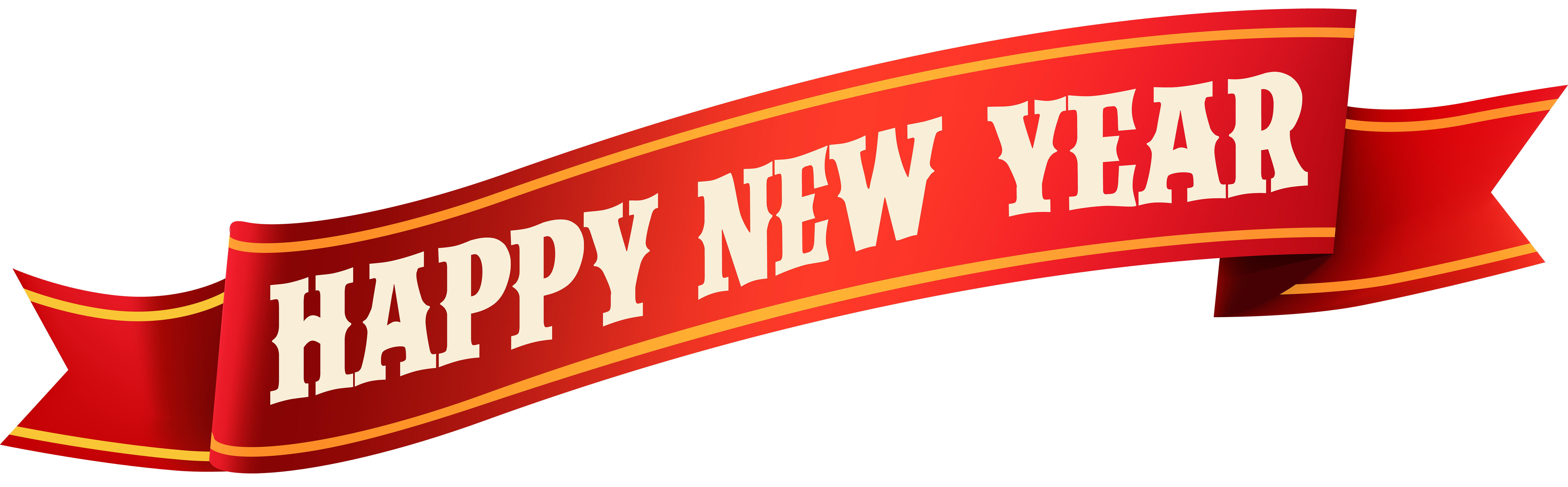 New year banner png. Happy clip art gallery