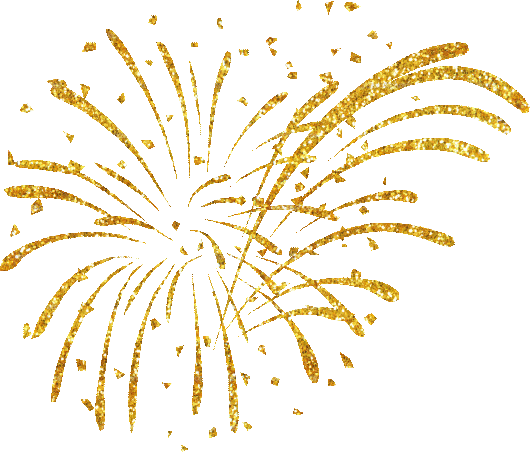 New year fireworks png. Happy transparent to you