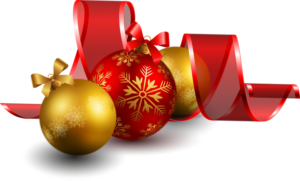 New year ornaments png. And christmas by byeny