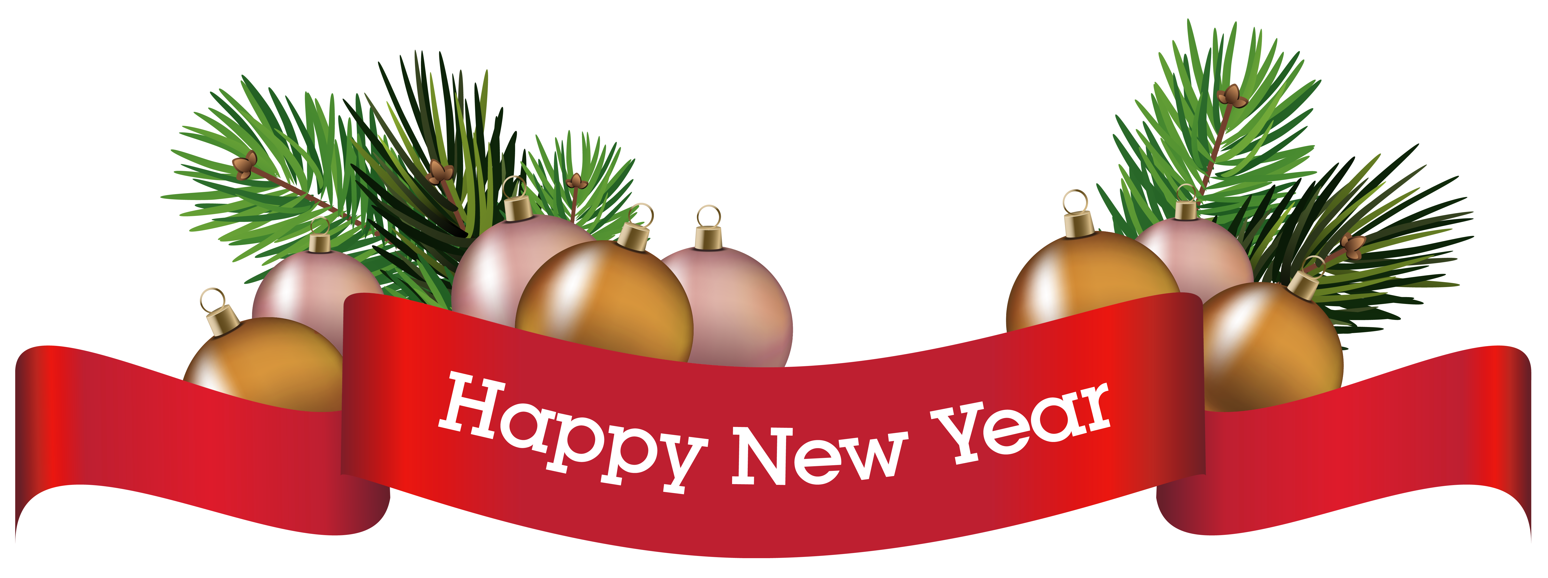 New year ornaments png. Merry christmas decorative ornament