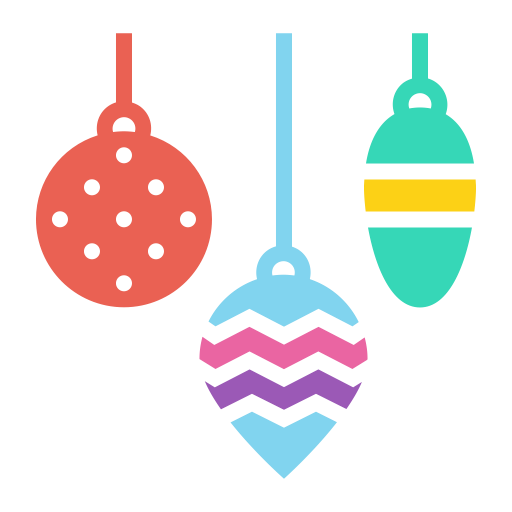 New yeard ornaments png. Ball christmas ornament decoration