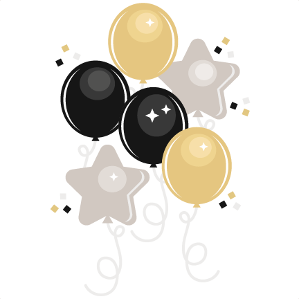 New years clip art png. Year s eve balloons