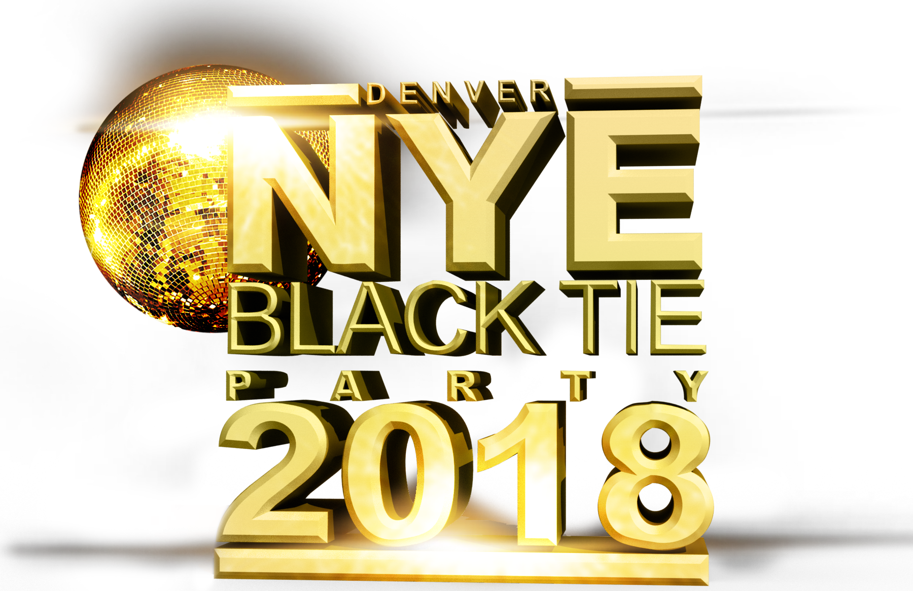 New years eve ball png. Denver black tie party