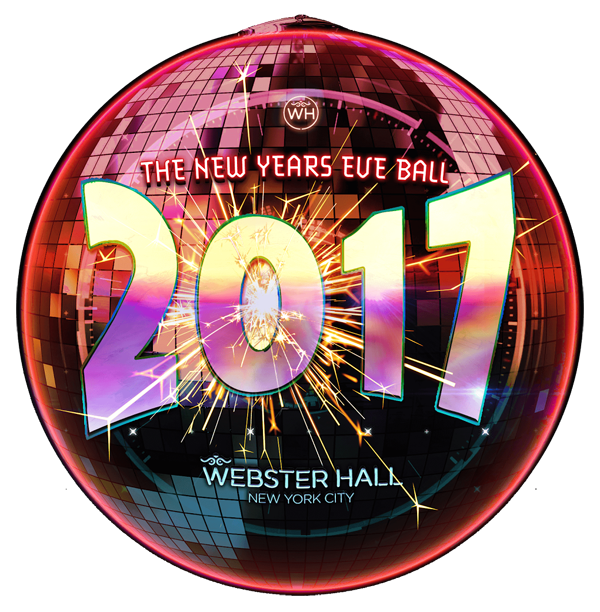 New years eve ball png. Webster hall year s
