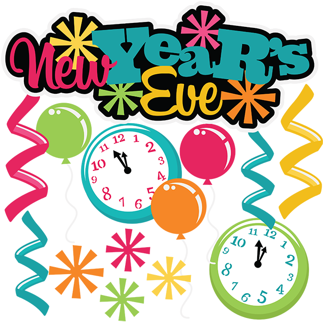 New years eve desktop. Year clipart vector royalty free stock