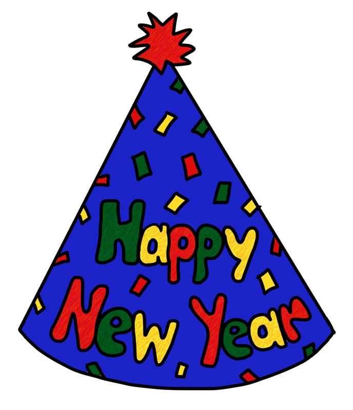 New years eve hat png. Party year s day