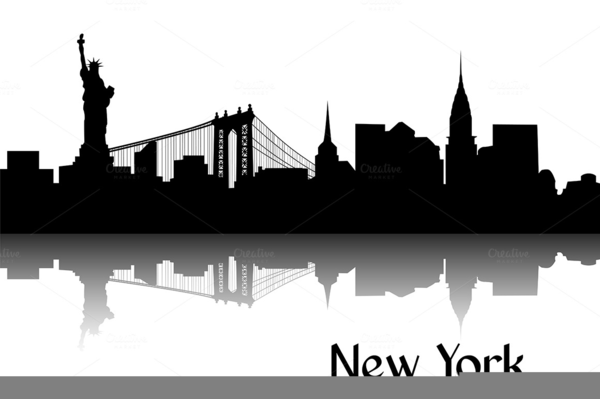 New York City. Clipart x making the